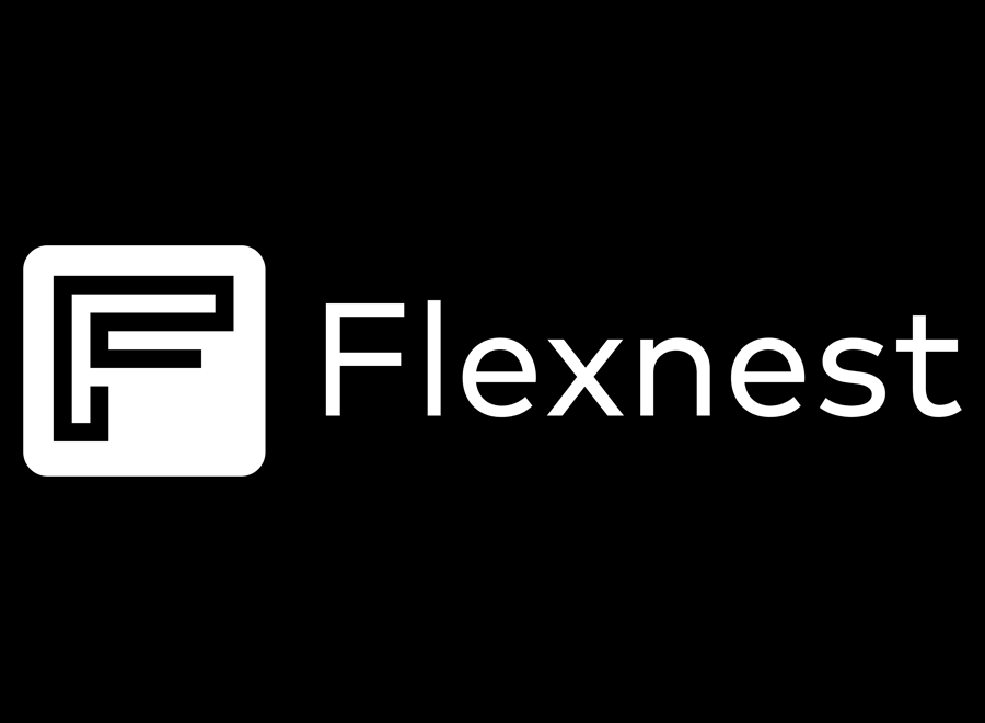 brand identity & social media management of flexnest